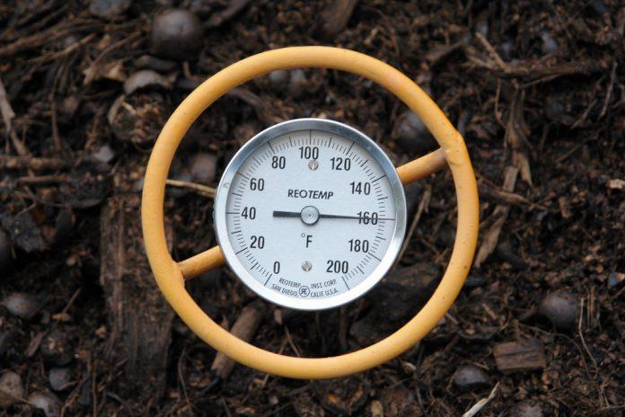 temperatura del compost
